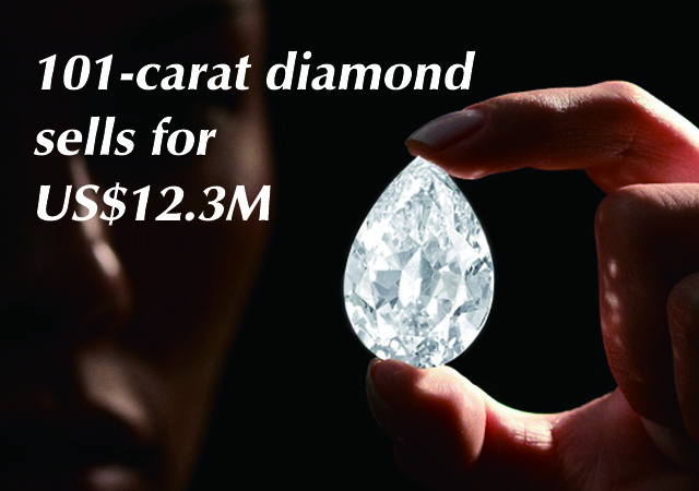 101-carat diamond sells for US$12.3M – in cryptocurrency